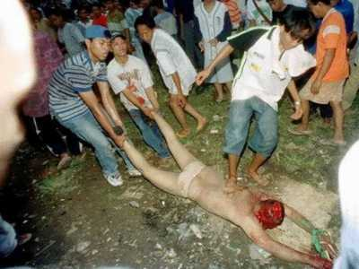 98印尼排华中被害美女 印尼残杀中国妇女照片